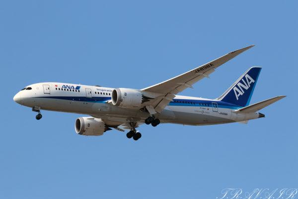 NH/ANA/全日空 NH414 B787-8 JA838A
