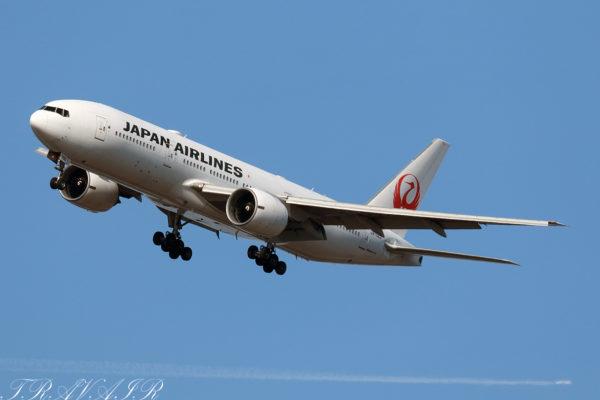 JL/JAL/日本航空 JL67 B777-200ER JA702J