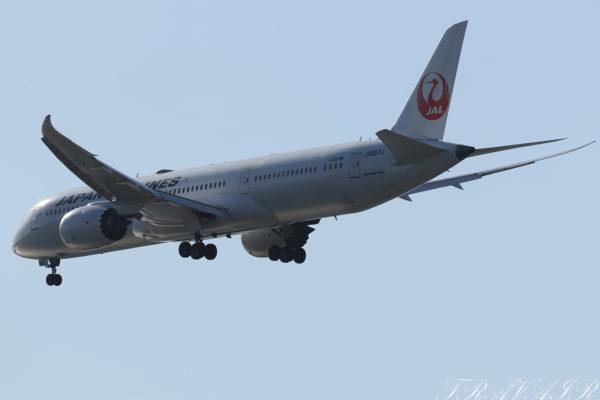 JL/JAL/日本航空 JL11 B787-9 JA867J