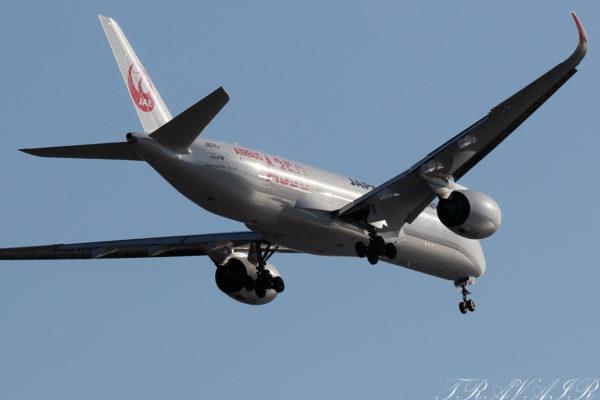 JL/JAL/日本航空 JL908 A350-900 JA01XJ