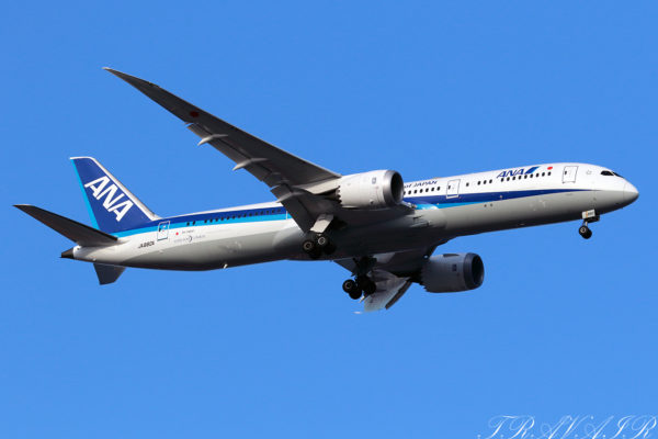NH/ANA/全日空 NH113 B787-9 JA880A