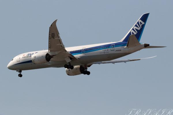 NH/ANA/全日空 NH24 B787-8 JA832A
