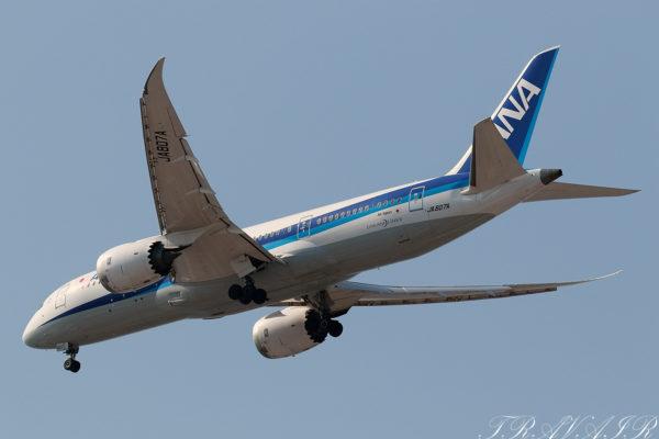 NH/ANA/全日空 NH462 B787-8 JA807A
