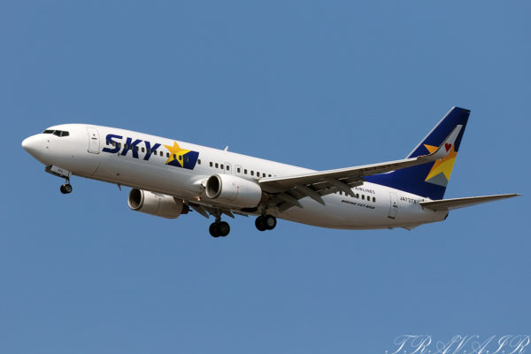 BC/SKY/スカイマーク BC10 B737-800 JA737X