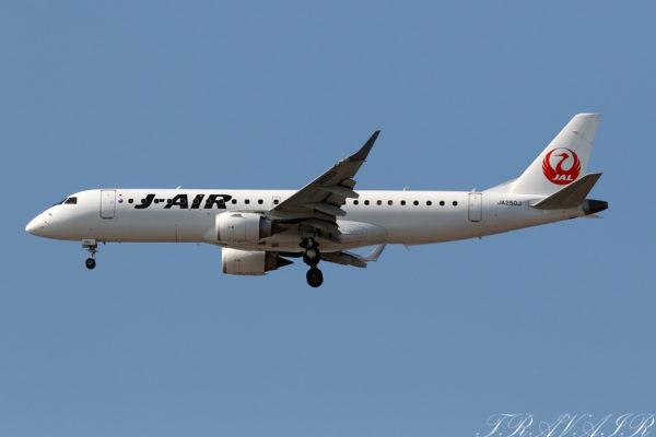 JL/JAL/日本航空 JL280 ERJ190 JA250J