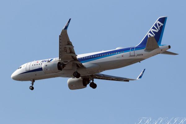 NH/ANA/全日空 NH646 A320Neo JA217A