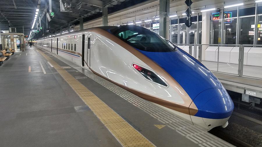 定期外利用者が激減のJR東日本の新幹線