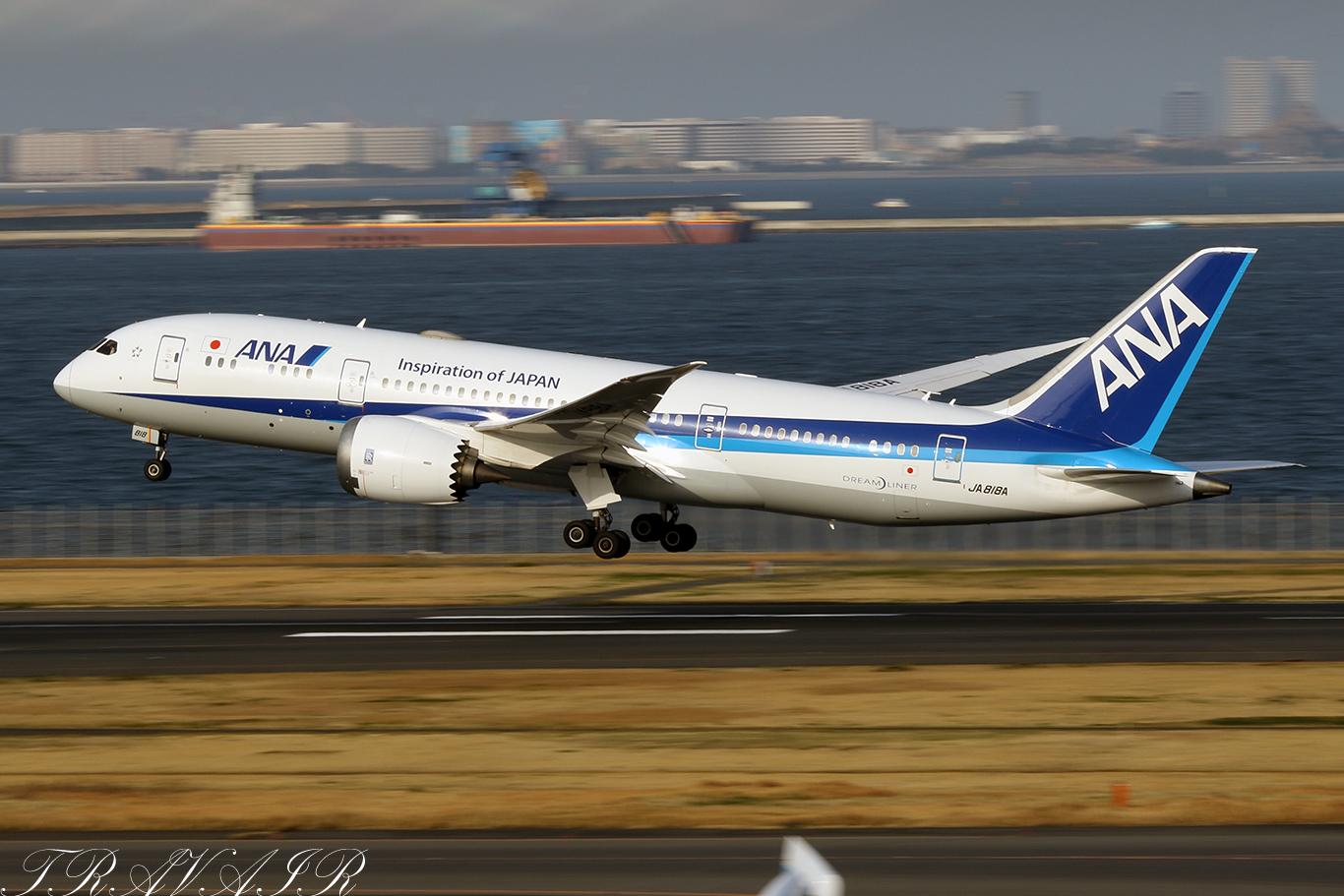 NH/ANA/全日空 NH71 B787-8 JA818A