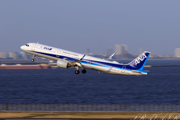 NH/ANA/全日空 NH667 A321Neo JA134A
