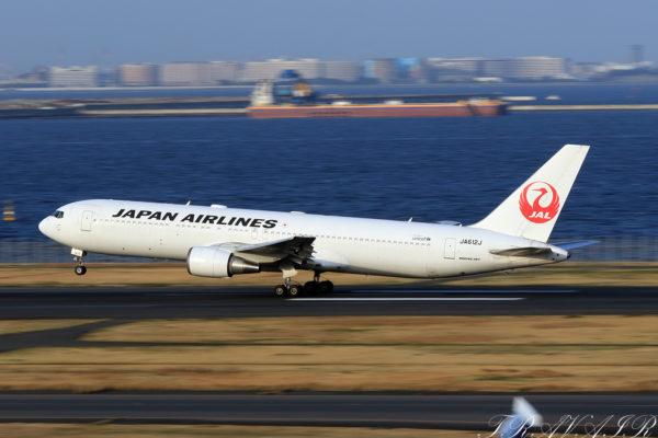 JL/JAL/日本航空 JL523 B767-300ER JA612J