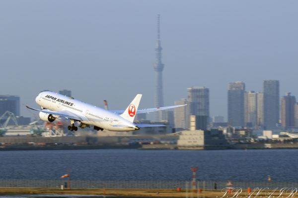 JL/JAL/日本航空 JL21 B787-9 JA867J