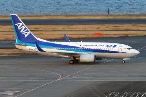 NH/ANA/全日空 NH456 B737-700 JA04AN