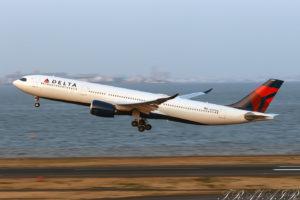 DL/DAL/デルタ航空 DL166 A330-900 N407DX