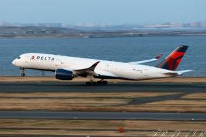 DL/DAL/デルタ航空 DL296 A350-900 N503DN