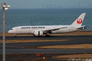 JL/JAL/日本航空 JL1 B787-8 JA842J