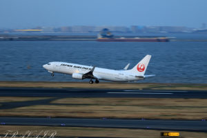 JL/JAL/日本航空 JL569 B737-800 JA320J