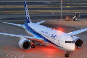 NH/ANA/全日空 NH34 B787-8 JA811A