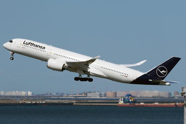 LH/DLH/ルフトハンザ・ドイツ航空 LH717 A350-900 D-AIXC
