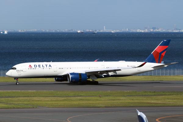 DL/DAL/デルタ航空 DL275 A350-900 N502DN