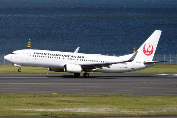 NU/JTA/日本トランスオーシャン航空 NU73 B737-800 JA04RK