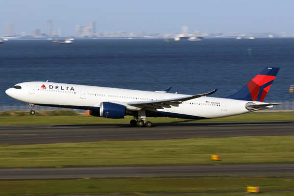 DL/DAL/デルタ航空 DL166 A330-900 N405DX