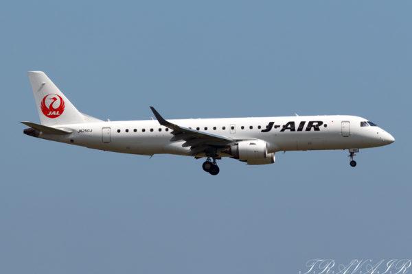 JL/JAL/日本航空 JL116 ERJ190 JA250J