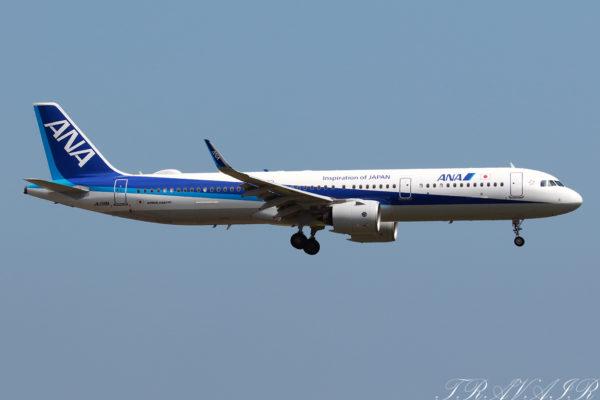 NH/ANA/全日空 NH656 A321Neo JA138A