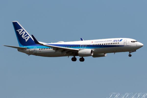 NH/ANA/全日空 NH796 B737-800 JA79AN
