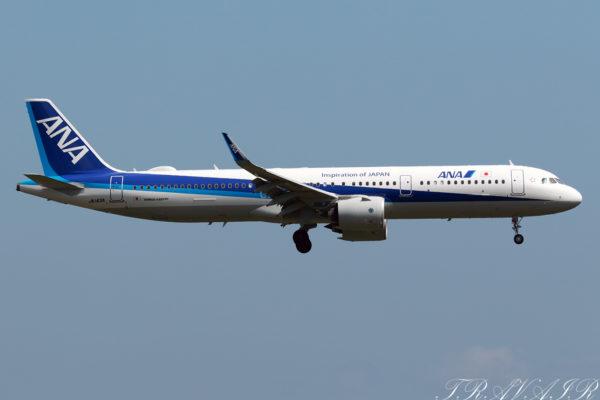 NH/ANA/全日空 NH982 A321Neo JA143A