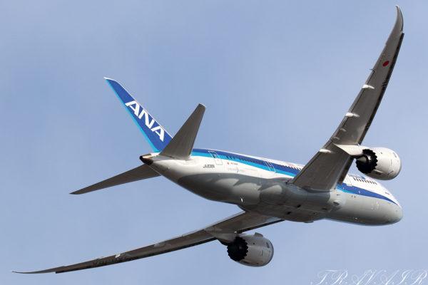 NH/ANA/全日空 NH477 B787-8 JA838A