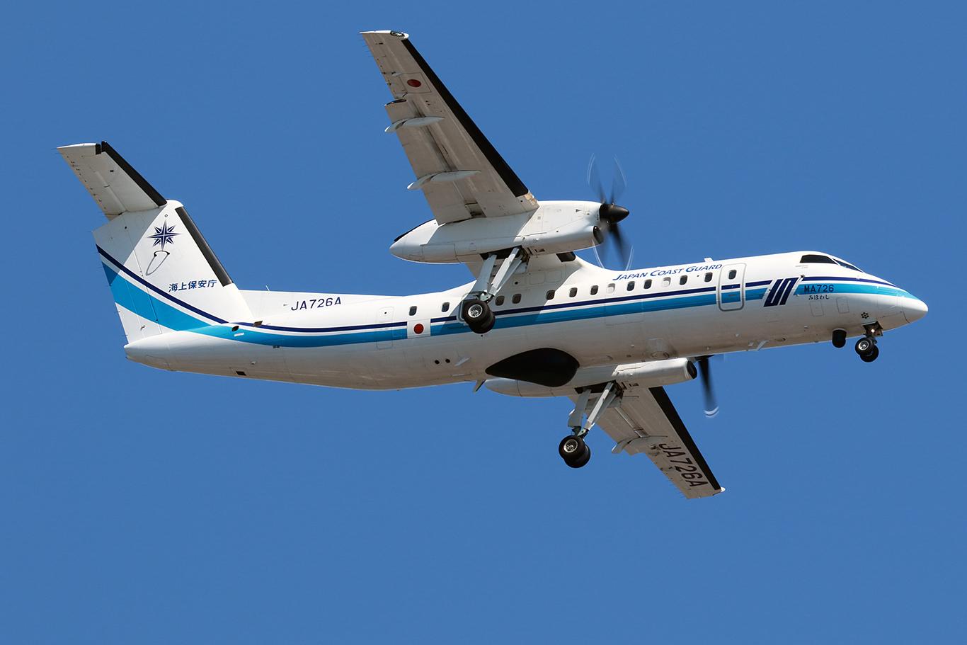 海上保安庁 Japan Coast Guard Bombardier Dash 8-Q315 JA726A