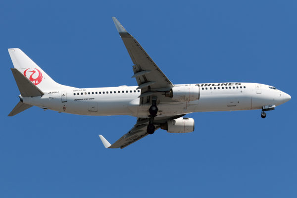 JL/JAL/日本航空 JL646 B737-800 JA306J