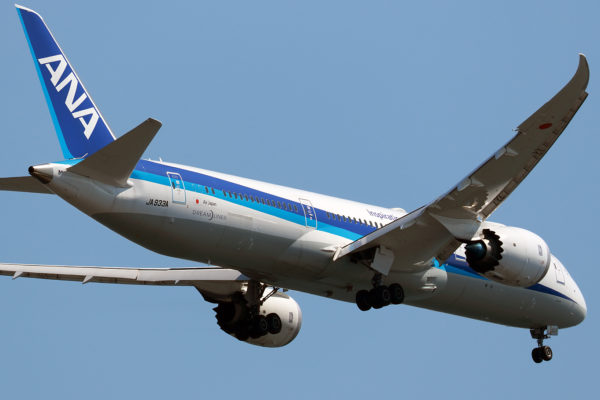 NH/ANA/全日空 NH216 B787-9 JA933A