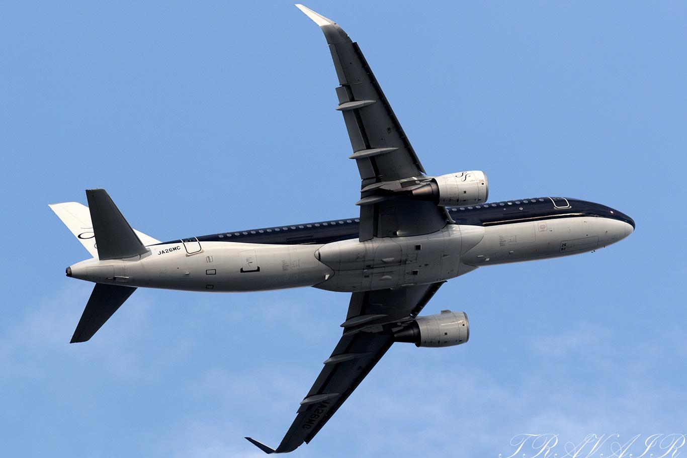 7G/SFJ/スターフライヤー 7G27 A320 JA26MC