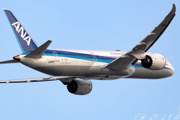 NH/ANA/全日空 NH891 B787-9 JA880A
