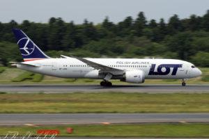 LO/LOT/LOTポーランド航空 LO80 B787-8 SP-LRG