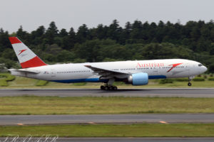 OS/AUA/オーストリア航空 OS52 B777-200ER OE-LPB