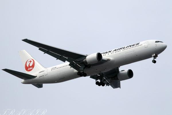 JL/JAL/日本航空 JL908 B767-300ER JA603J
