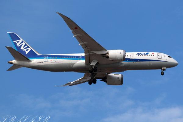 NH/ANA/全日空 NH30 B787-8 JA840A