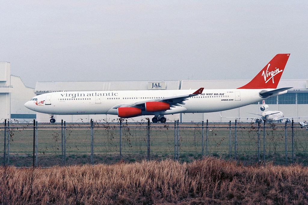 VS/VIA/ヴァージン・アトランティック航空 A340-300 G-VBUS