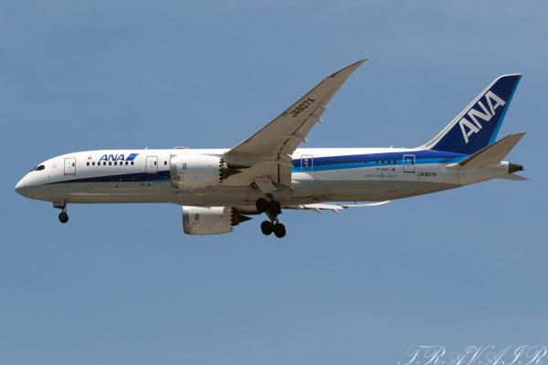 NH/ANA/全日空 NH246 B787-8 JA807A