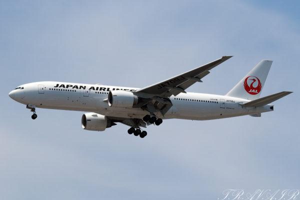 JL/JAL/日本航空 JL902 B777-200ER JA709J