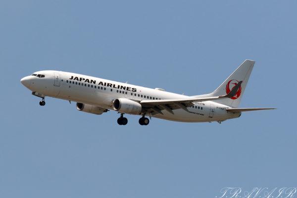 JL/JAL/日本航空 JL310 B737-800 JA324J