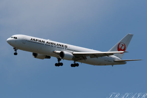 JL/JAL/日本航空 JL644 B767-300ER JA601J