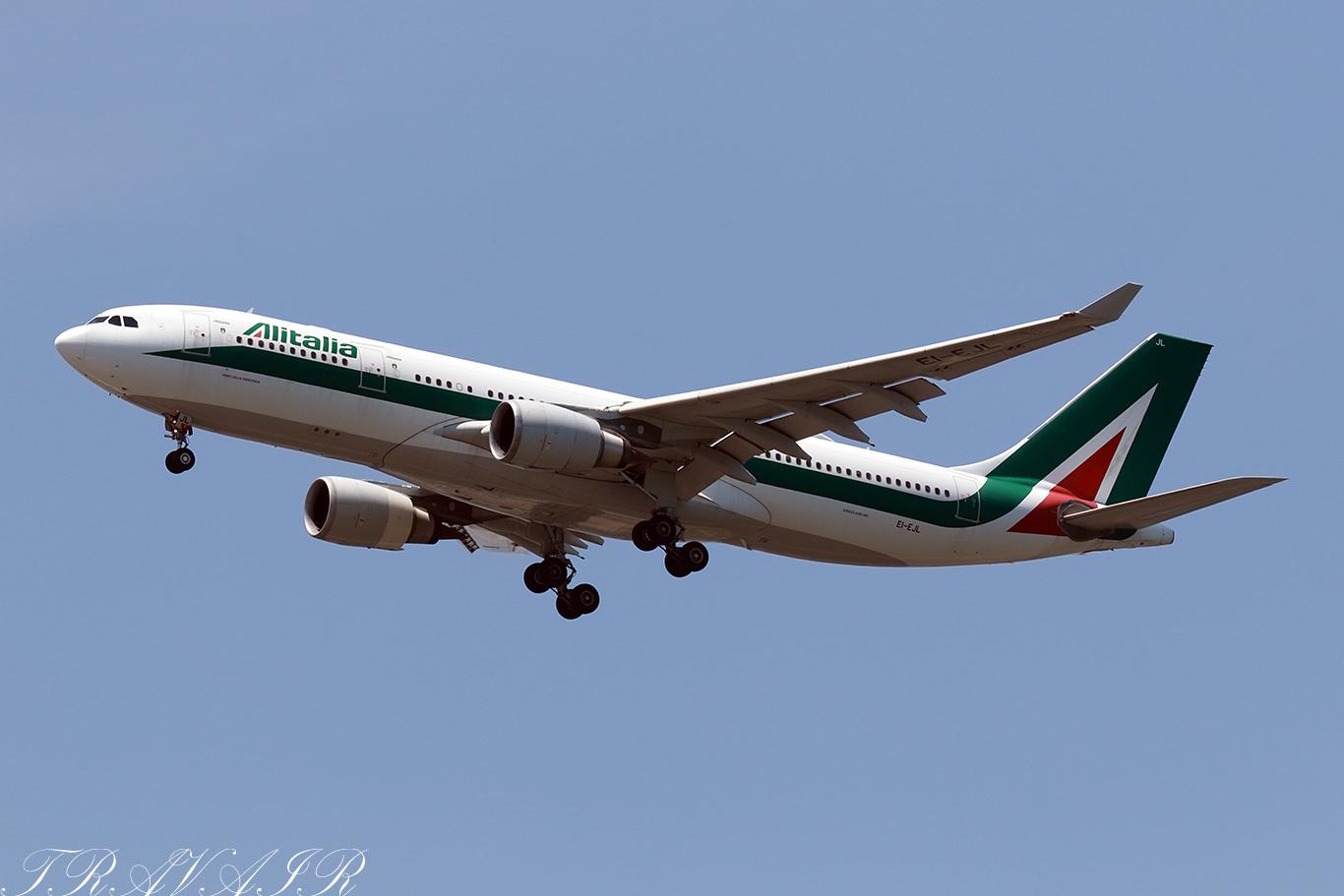 AZ/AZA/アリタリア航空 AZ792 A330-300 EI-EJL