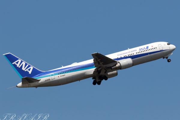 NH/ANA/全日空 NH9141 B767-300ER JA615A