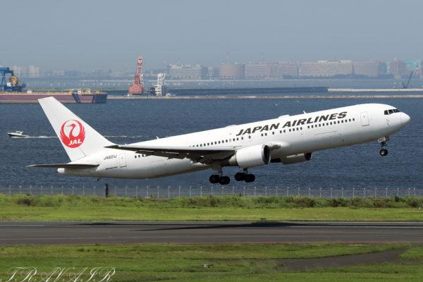 JL/JAL/日本航空 JL517 B767-300ER JA601J