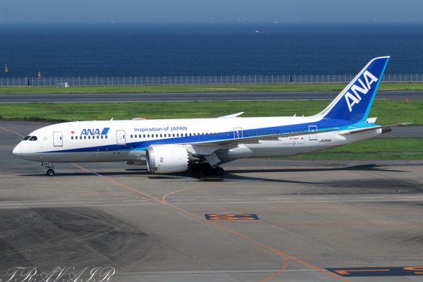 NH/ANA/全日空 NH62 B787-8 JA815A