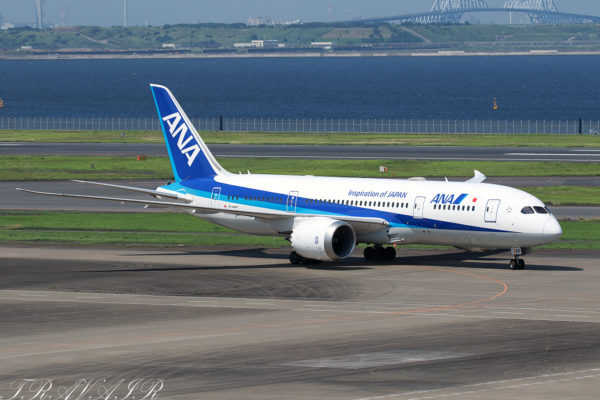 NH/ANA/全日空 NH26 B787-8 JA831A