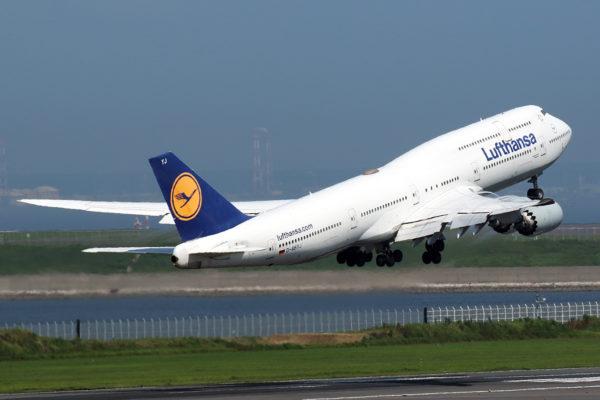 LH/DLH/ルフトハンザ・ドイツ航空 LH715 B747-8 D-ABYJ